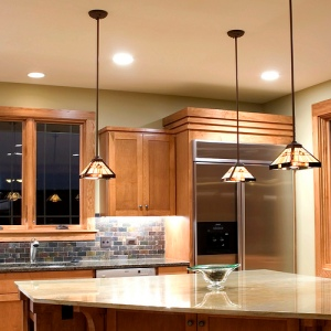 Example of kitchen lighting